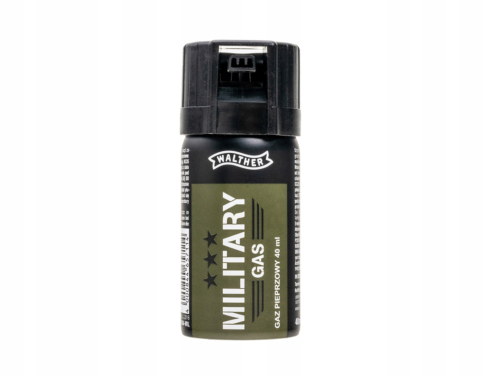 Gaz pieprzowy Walther Military Gas  stożek 40 ml