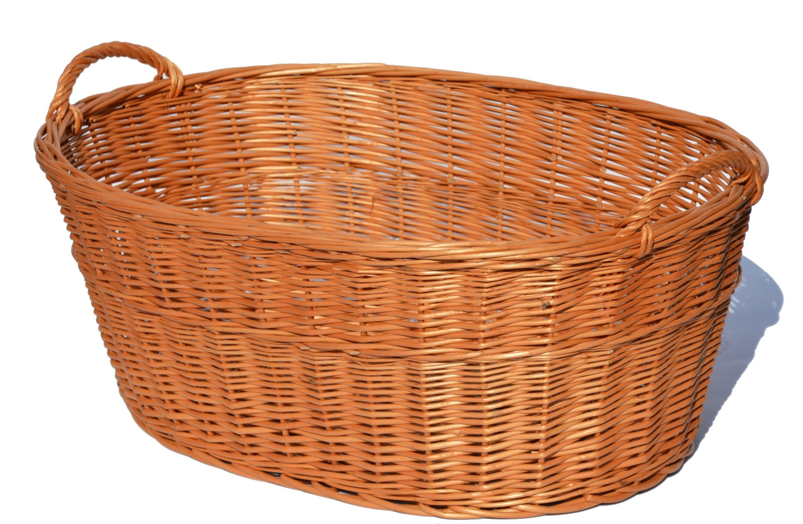 Magle Basket na umývanie spodného prádla prútené 70 cm silné
