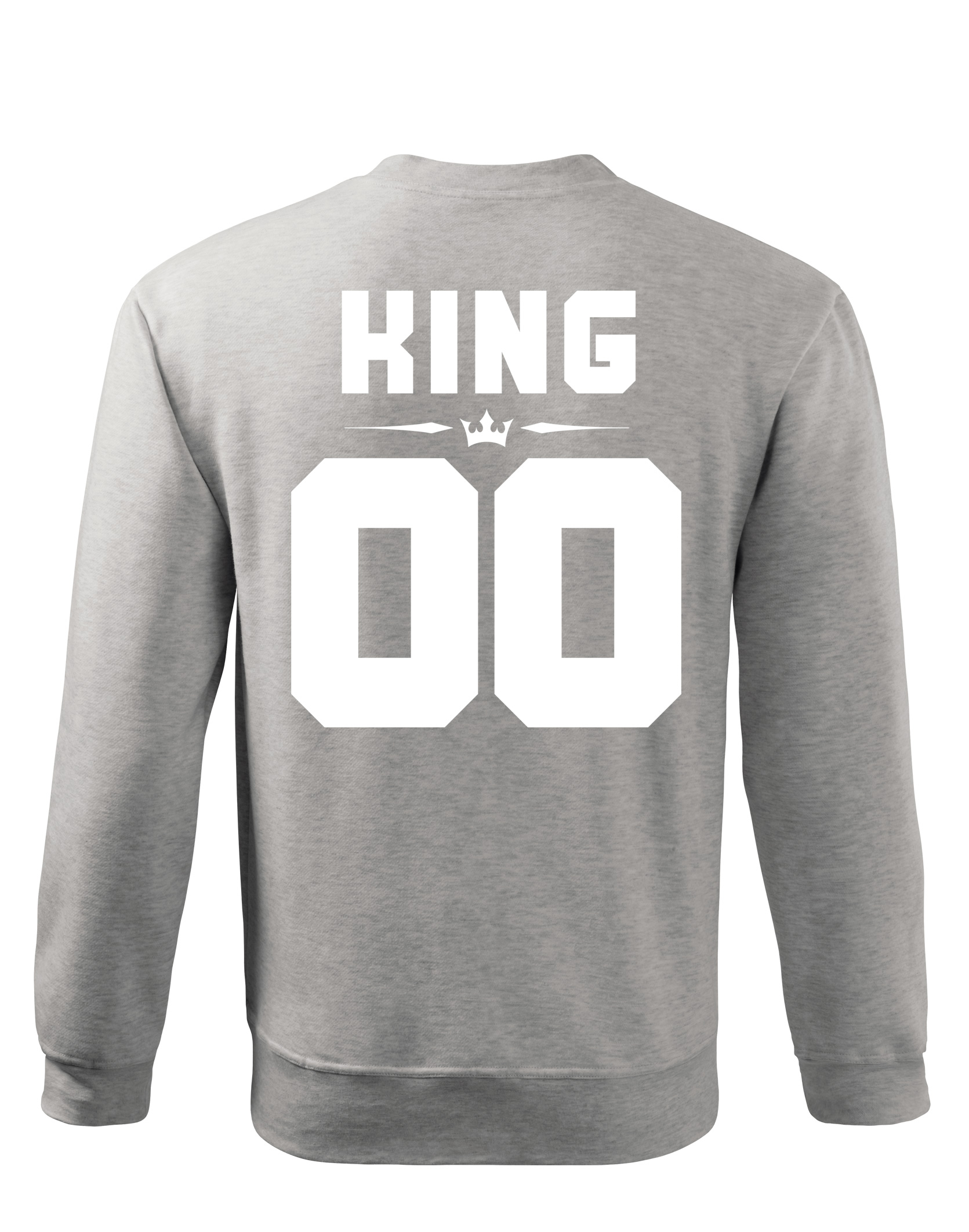 bluza męska z nadrukiem king 01