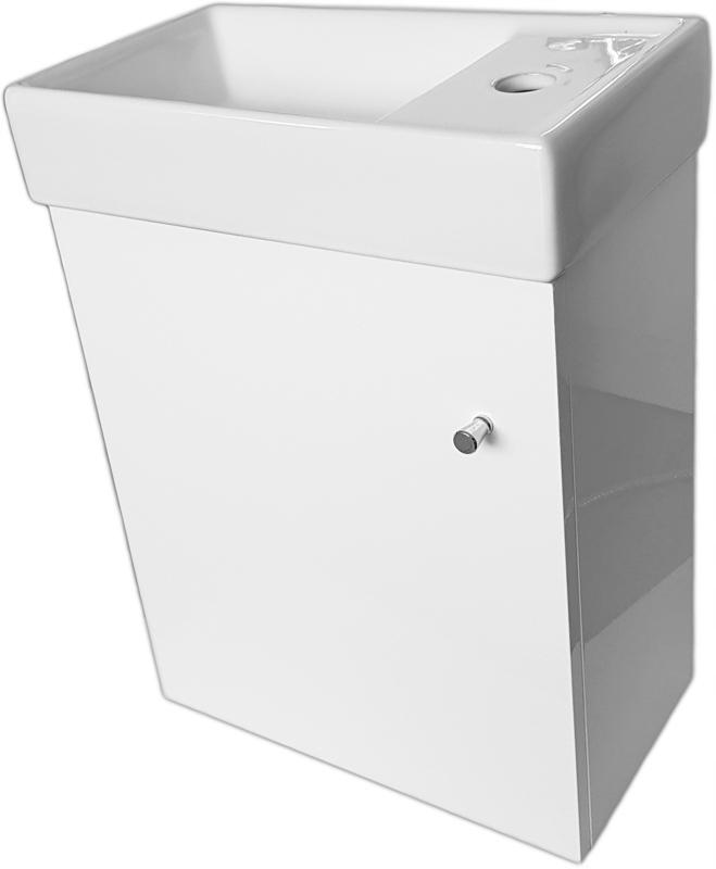 Skrinka s umývadlom plný poľských 40x22