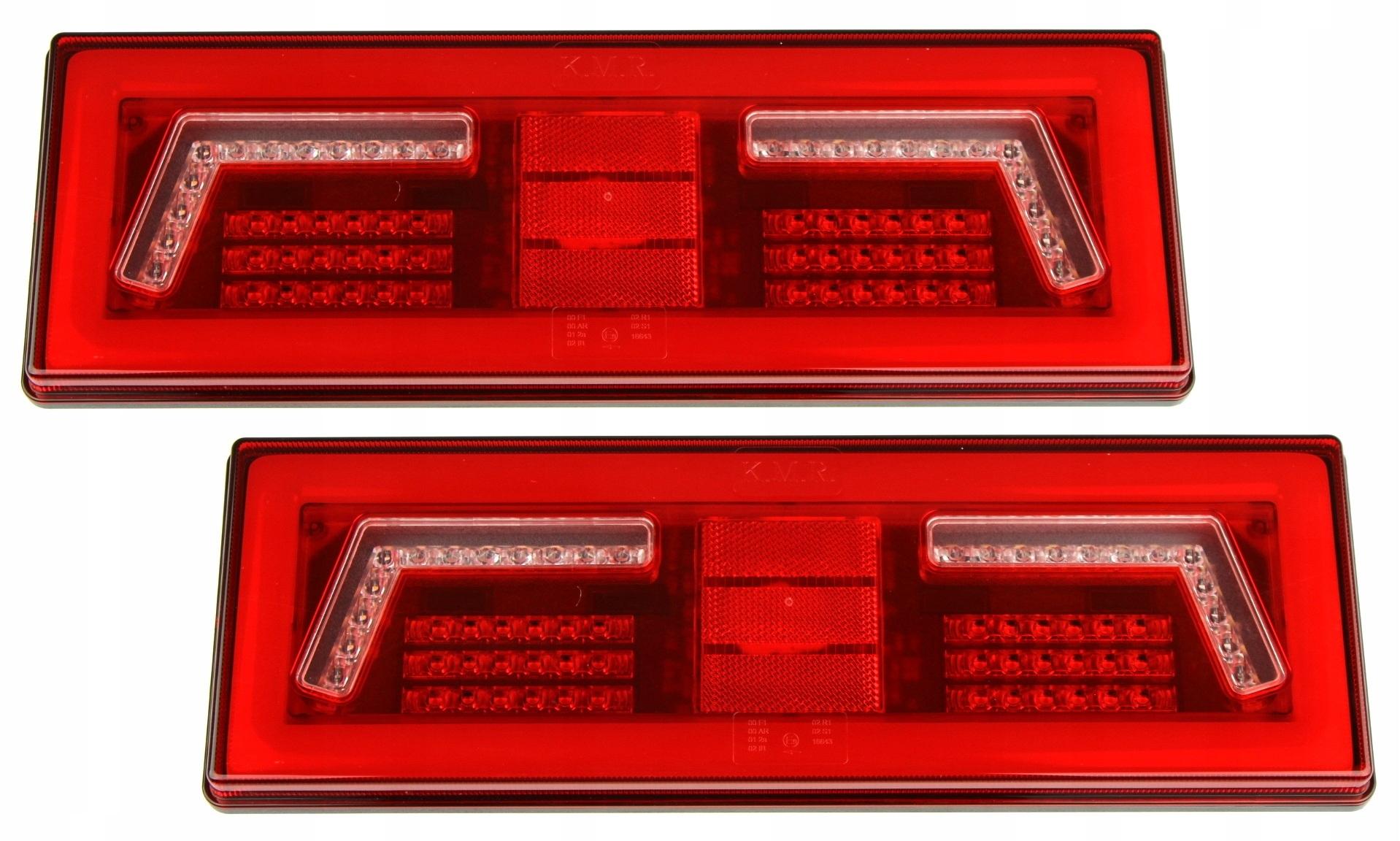 лампа мост фонарь led 1224v прицепа пара