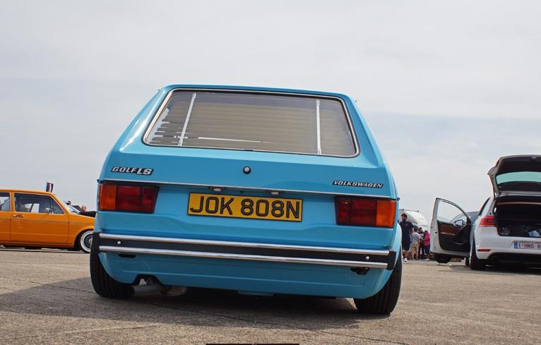 Zadné zamknutom Žalúzie Retro Štýl VW Golf 1 Mk1