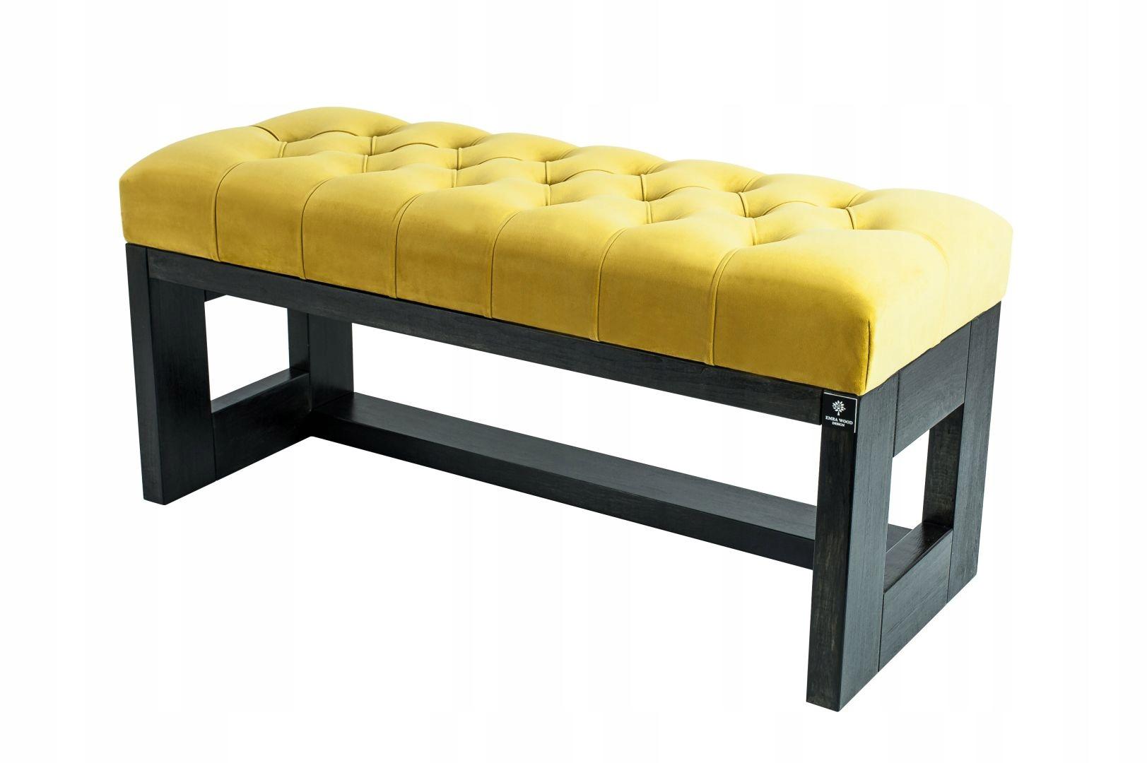 70 Výrobca Bench Prešívaný Žltá Citrón EMR