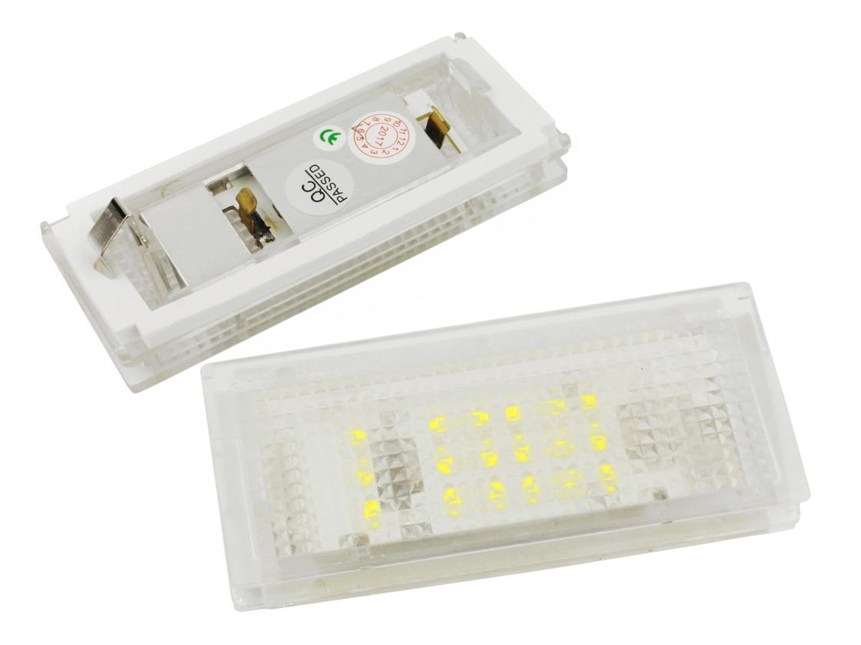 led подсветка лампы регистрации bmw e46 98-05