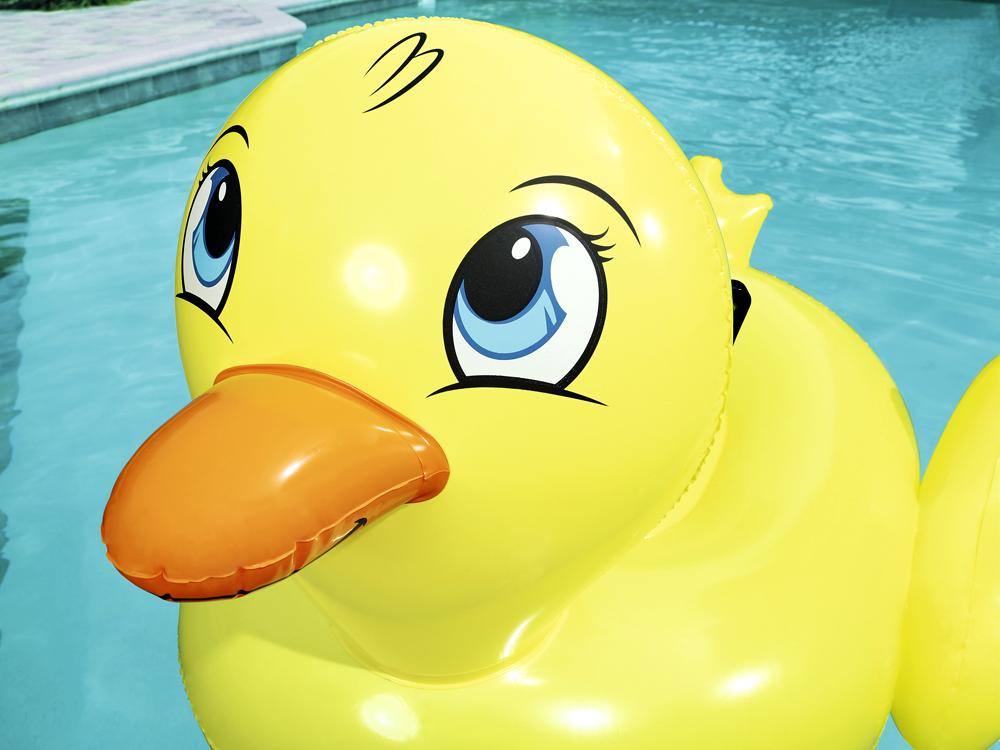 Bestway żółta dmuchana KACZKA do pływania 41102 Wiek dziecka 3 lata +