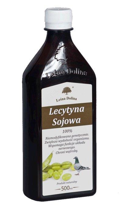 LEŚNA DOLINA Lecytyna sojowa 500ml