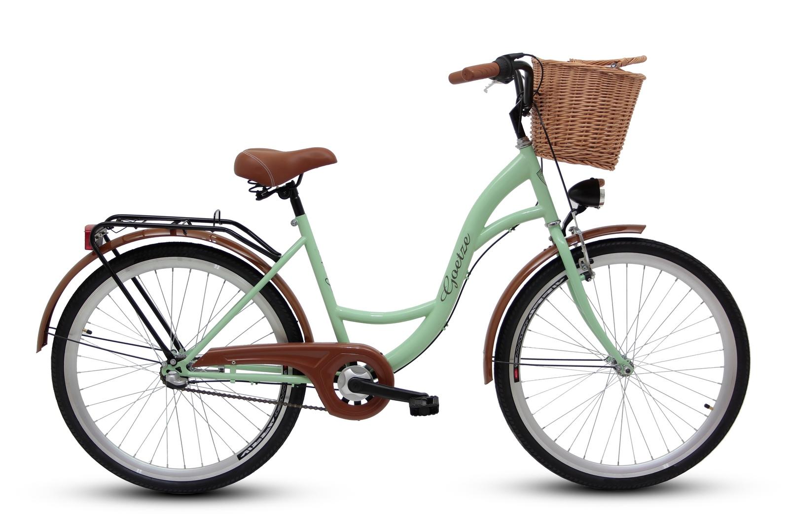 Dámsky mestský bicykel GOETZE 26, 3-rýchlostný kôš zadarmo!