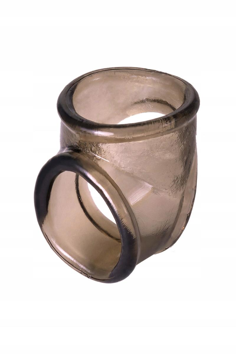 żelazny pierścień na penisie