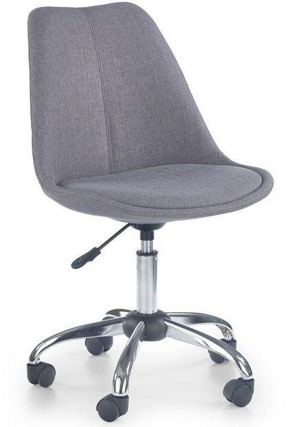 Otočná stolička COCO 4 sivá pre váš desktop