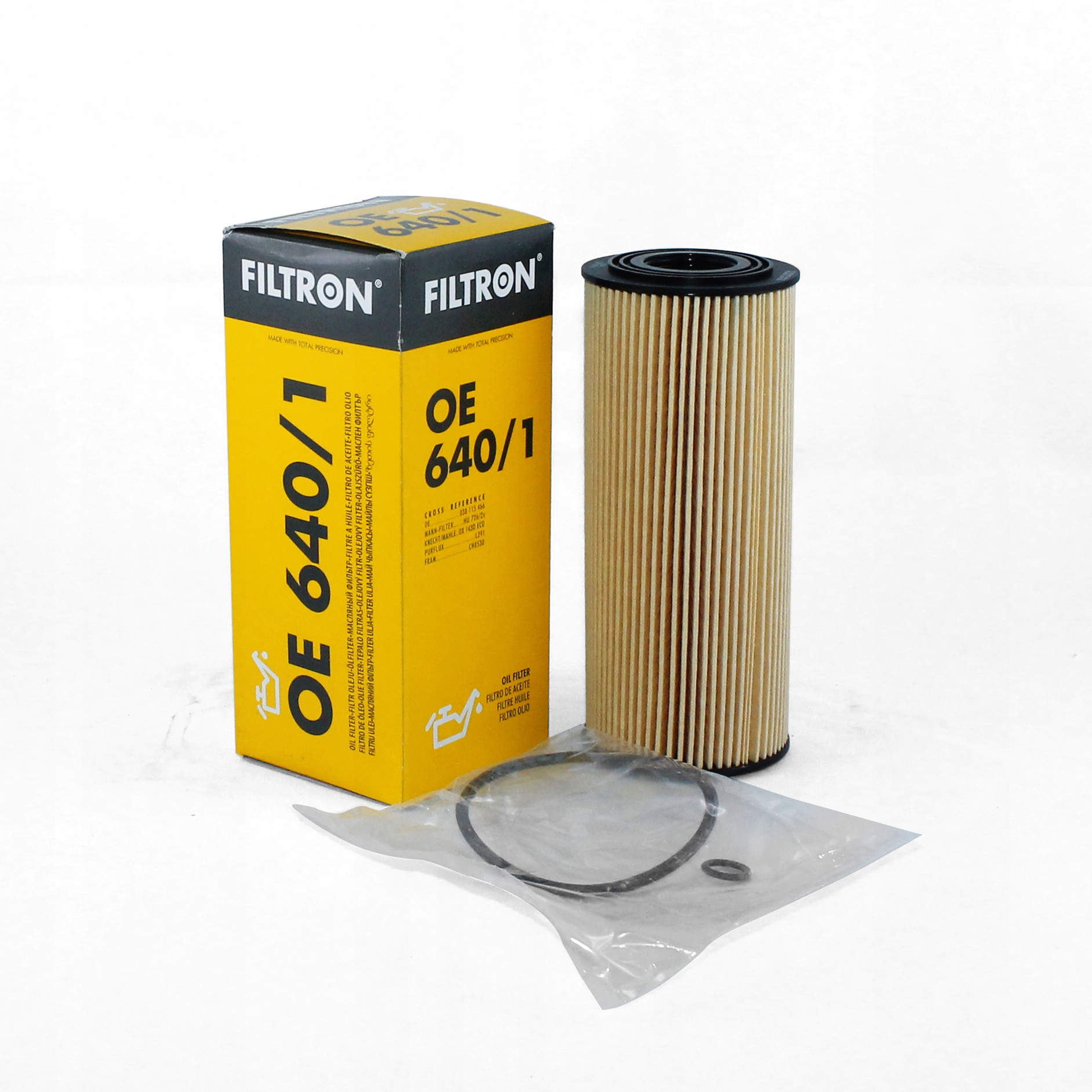 фильтр масла audi seat skoda vw 1 9 tdi oe6401