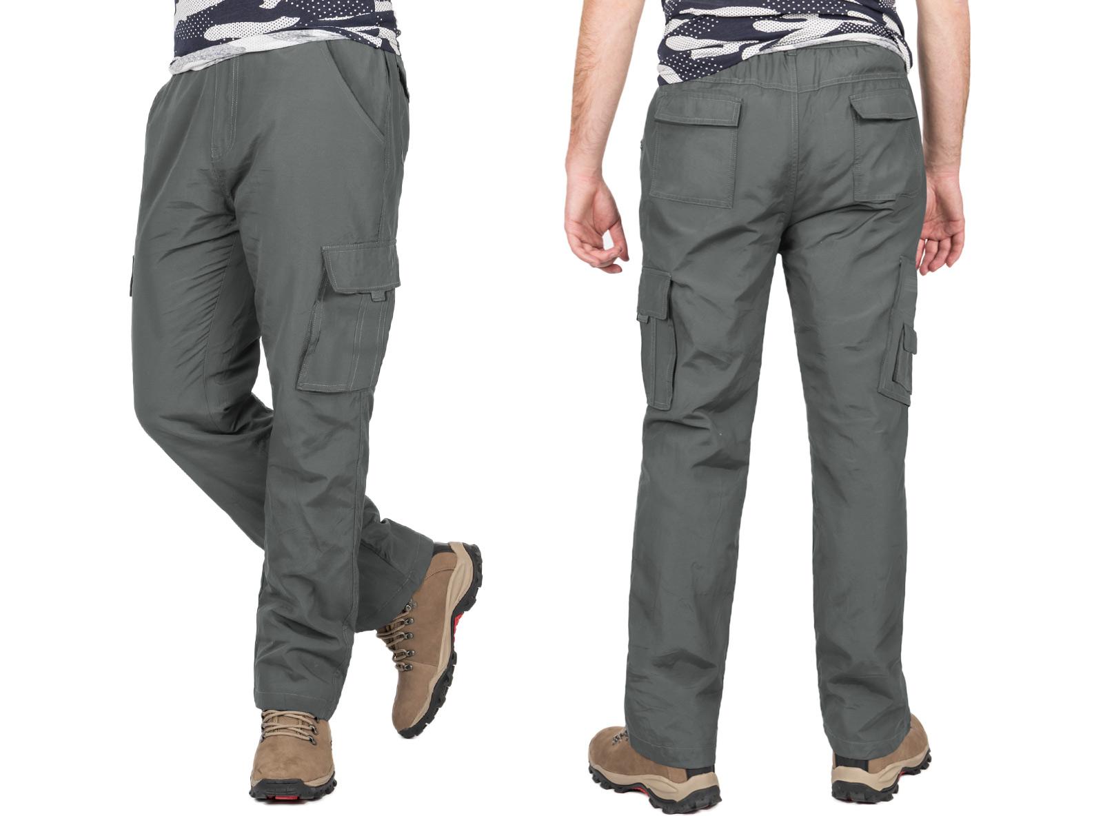 0ccbe2681 Spodnie Bojówki Trekkingowe Męskie 3650 r M popiel 7277260542 - Allegro.pl