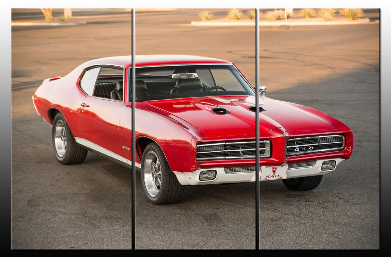Auto Obrázok Retro Oldtimer Pontiac GTO Auto