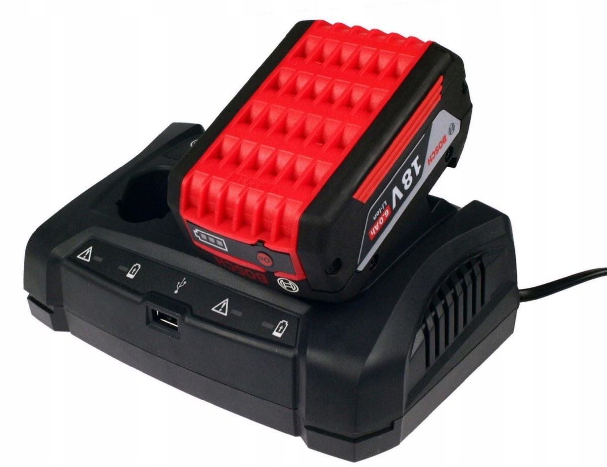 Ładowarka Bosch GAX 18V 30 USB Professional 10,8V 12v 14,4V