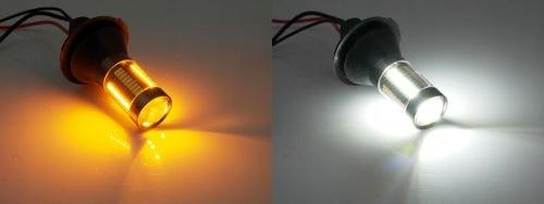 2w1 Światła DZIENNE+KIERUNKOWSKAZY 132 x LED PY21W
