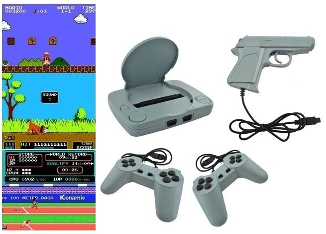 Televízna hra Pegazus Console + Pegasus Games Pumy