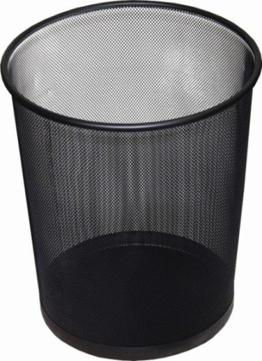 Item BASKET OFFICE METAL MESH 19L CONTAINER