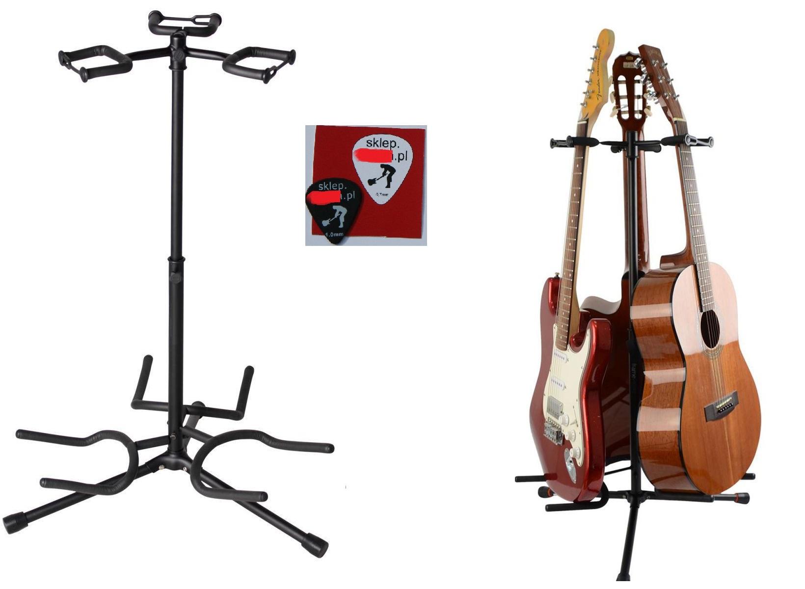 STAND TRIPOOD GUITAR 3 Gitary Carousel + Cube