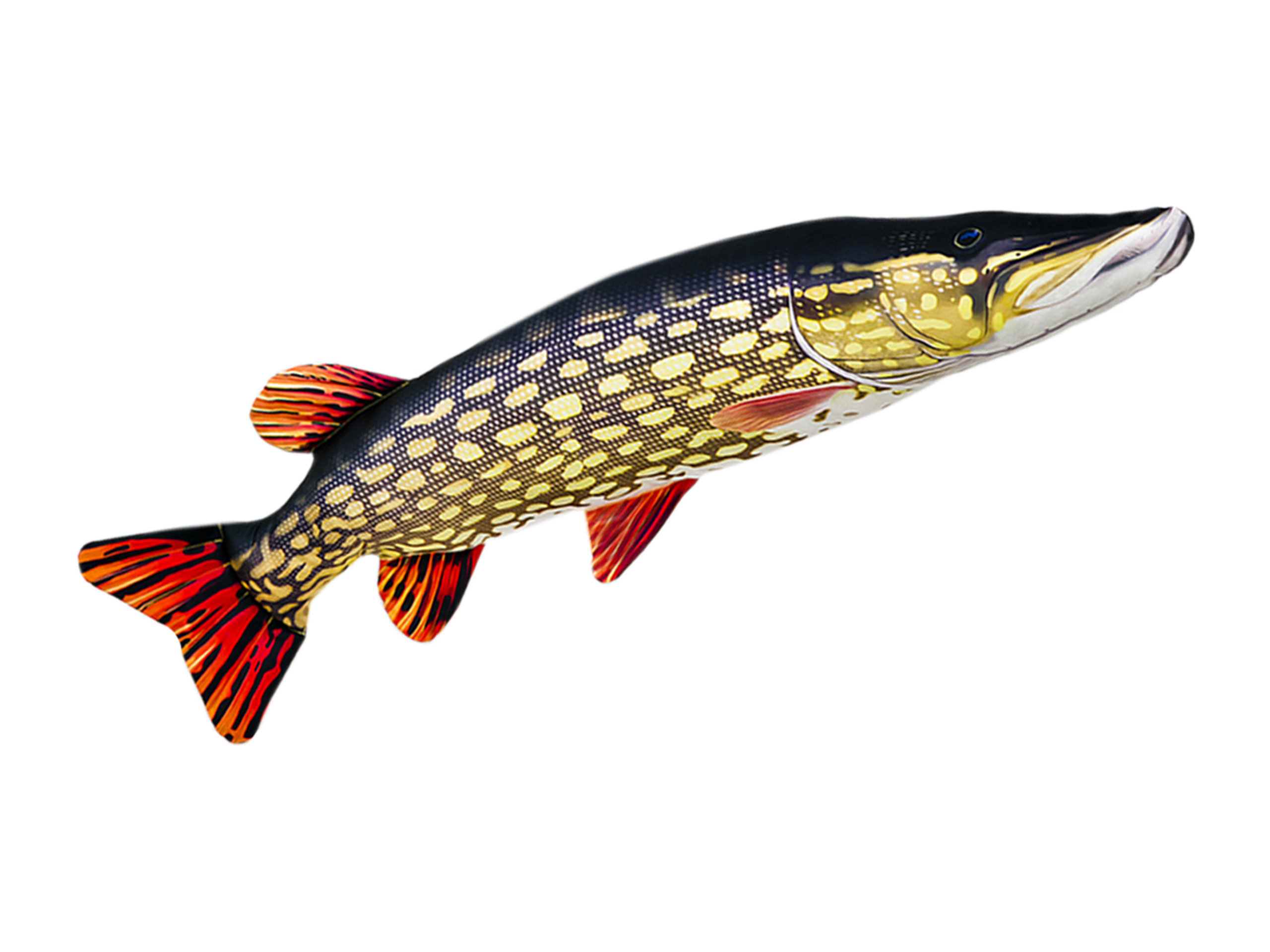 Rybí vankúš GABY maskot PIKE GIANT 110cm