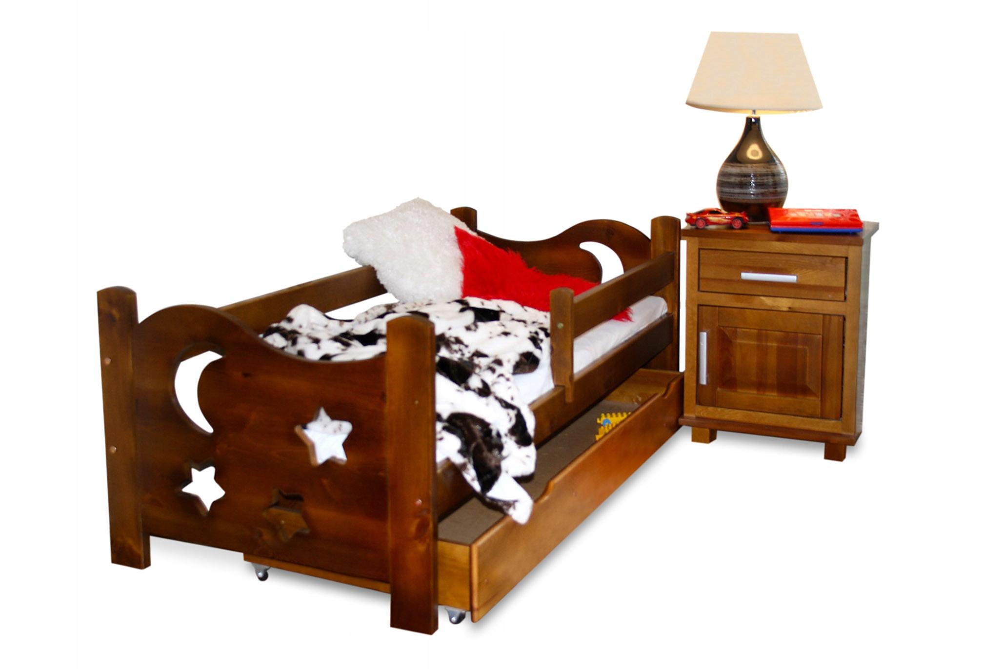 Deti, prístelky 70x160 EGOR DUB posteľ