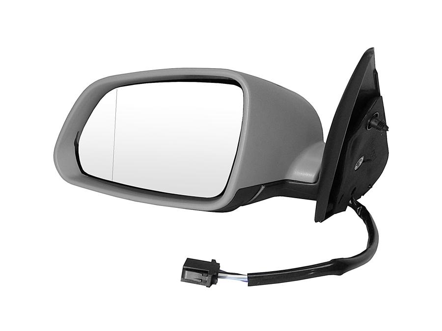 зеркало левое электрические skoda octavia ii 1z -08