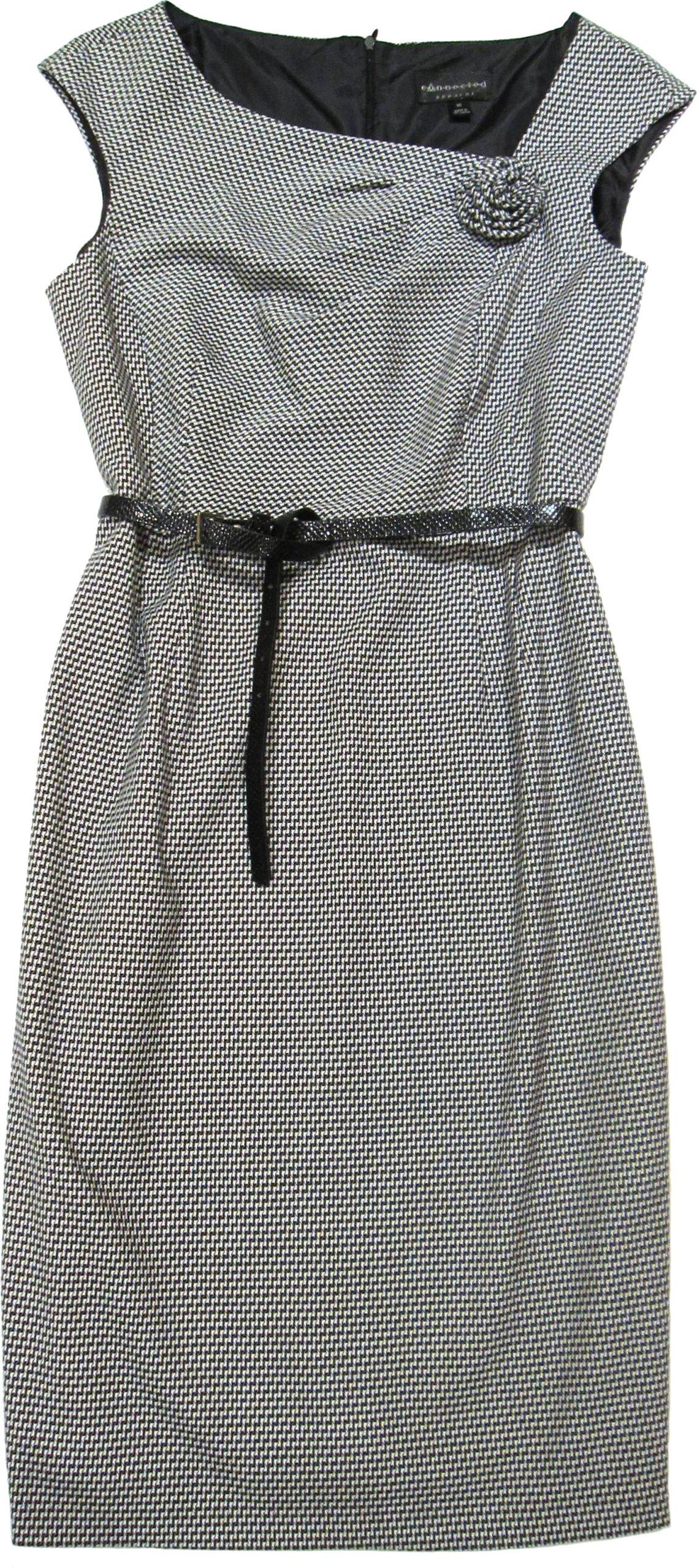 CONNECTET APPAREL sukienka w pepitkę * 42 44