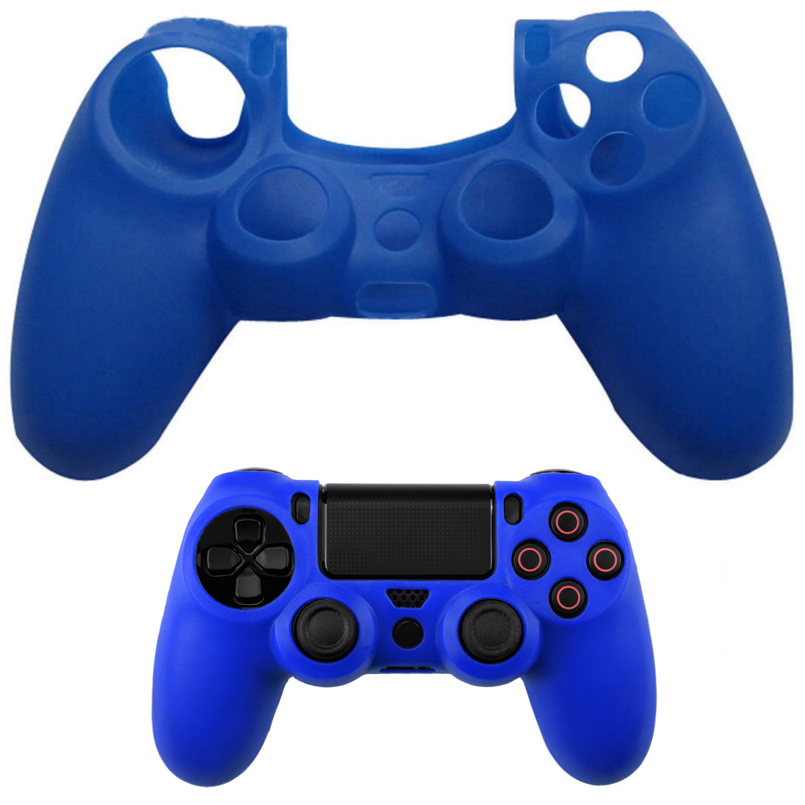 Item Protective Cover-Plate Silicone Rain PS4 COLORS