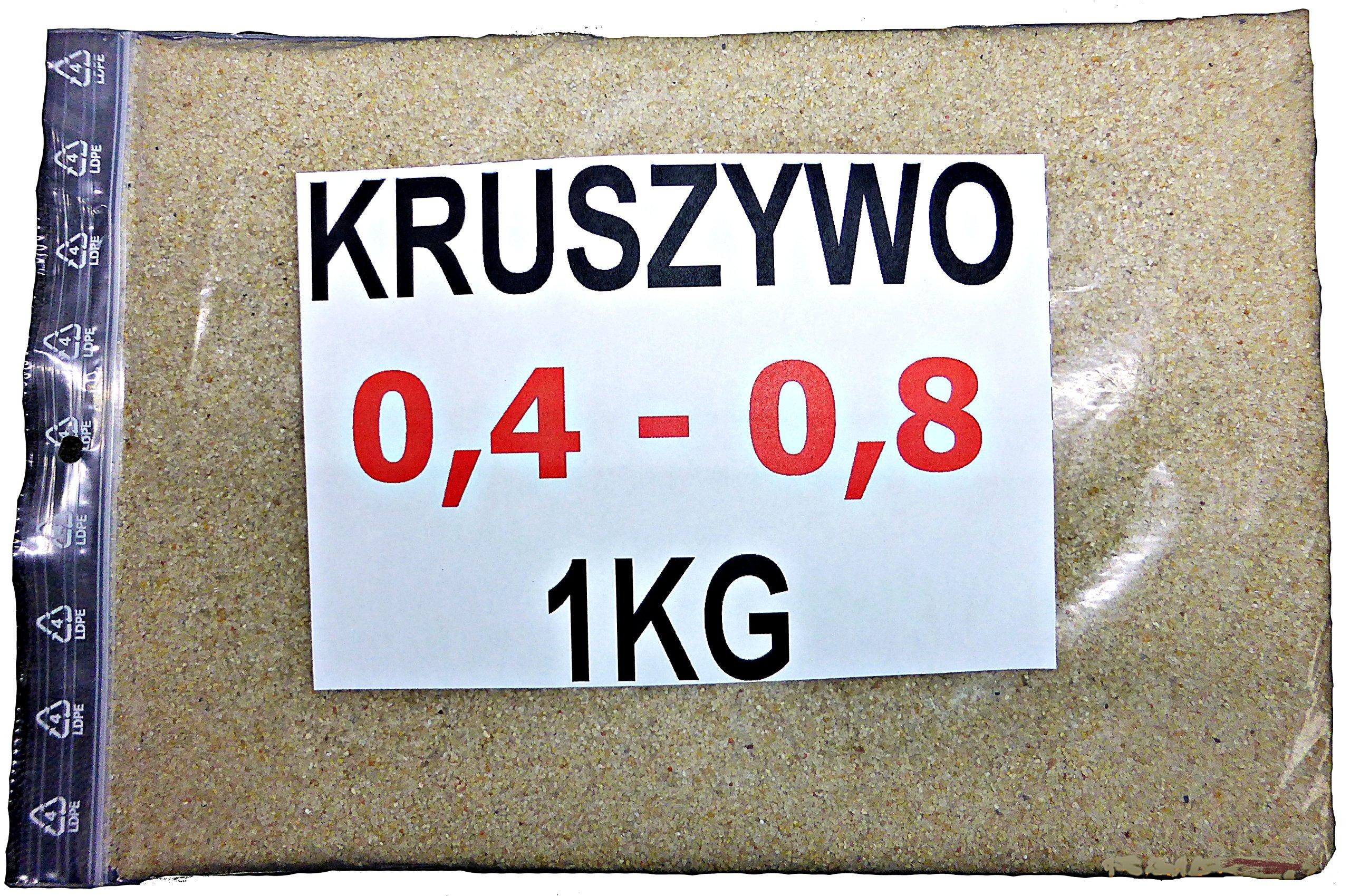 Piesok agregát 0,4-0,8 kremenný pre 1 kg