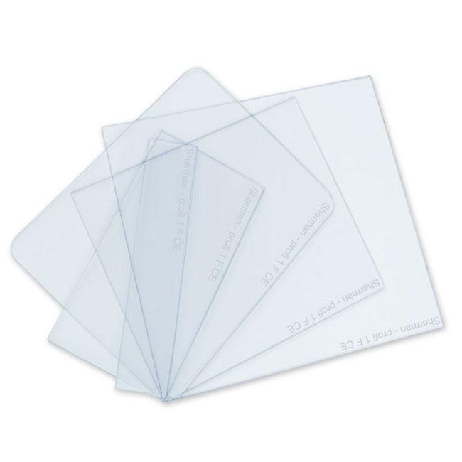 Rýchly polykarbonát PVC Filter pre Masky 58x107