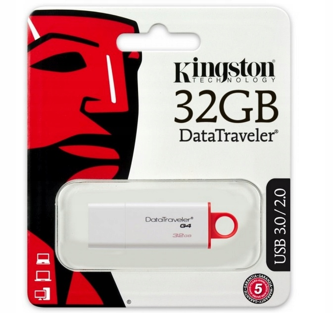Item KINGSTON FLASH MEMORY DTIG4 USB 3.0, 32 GB