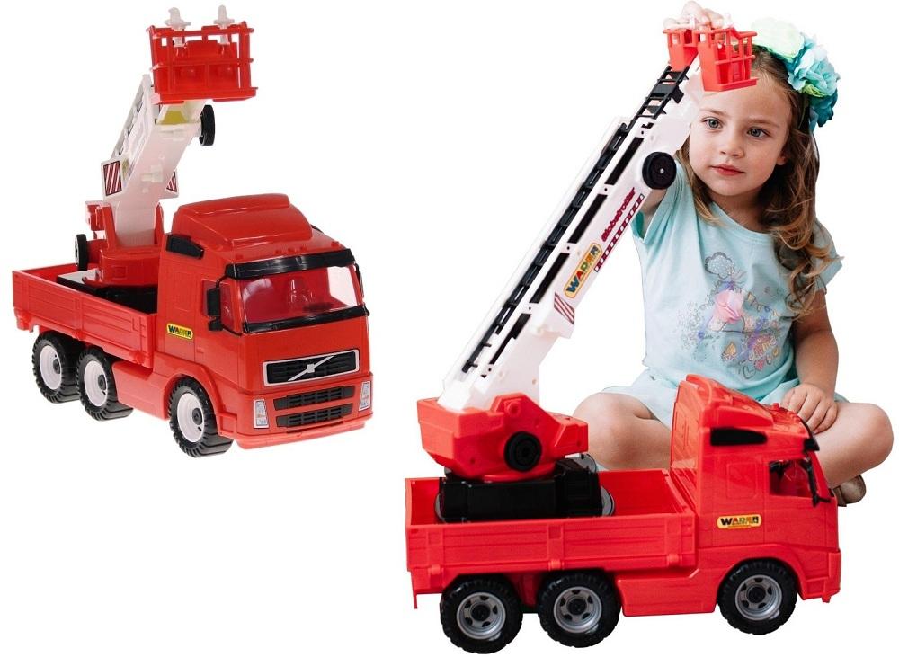 Wader Big Fire Truck Fire Brigade Vozidlo 8787