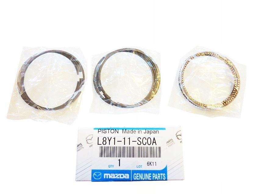 кольца поршневые mazda 5 6 mx-5 18 бензин компл