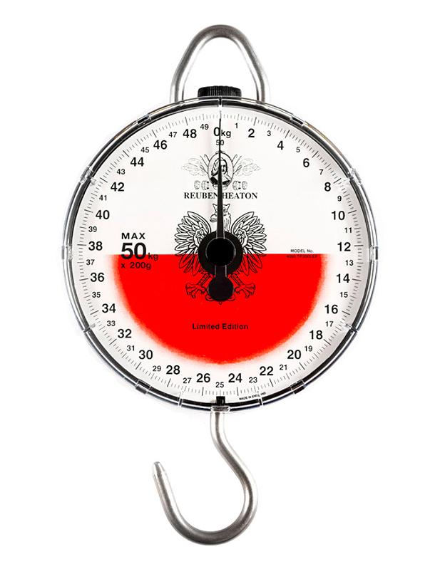 REUBEN HEATON ROZSAHU 50 kg hmotnosť s poľskou vlajkou