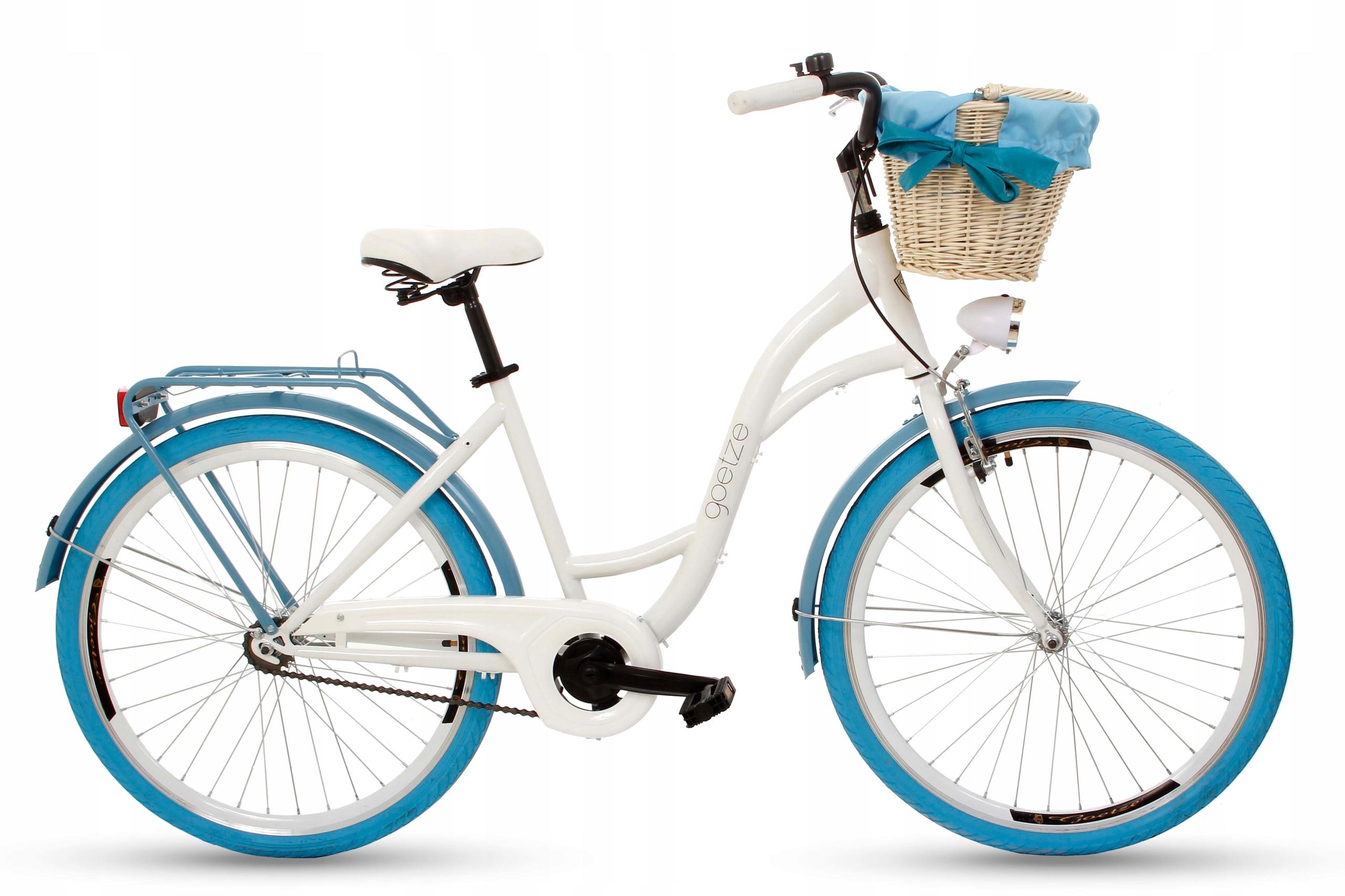 Dámsky mestský bicykel Goetze COLORS 26 košík!  Veľkosť rámu 17 palcov