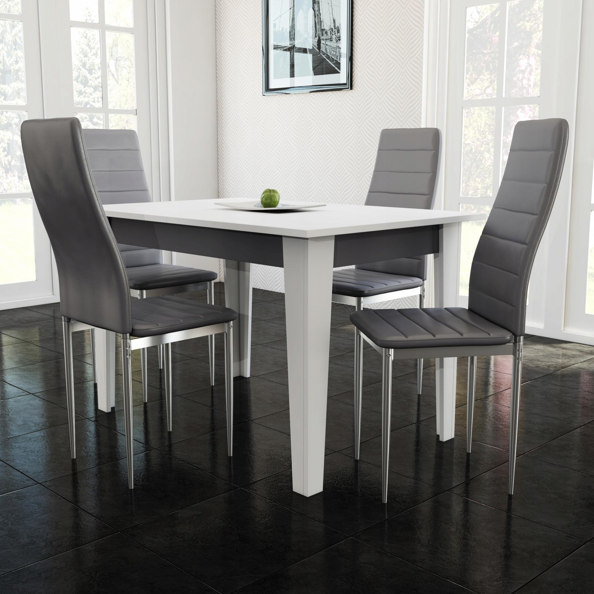 возможно, стол и стулья фото белого цвета отличаются высоким качеством