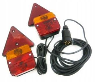 Набор ламп LAMP для прицепа с треугольным магнитом