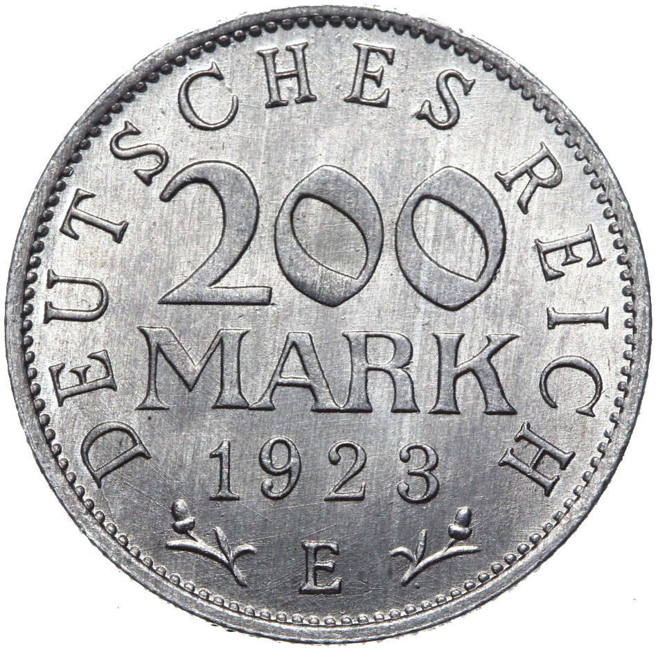 Nemecko - 200 Marek 1923 E - Cinema