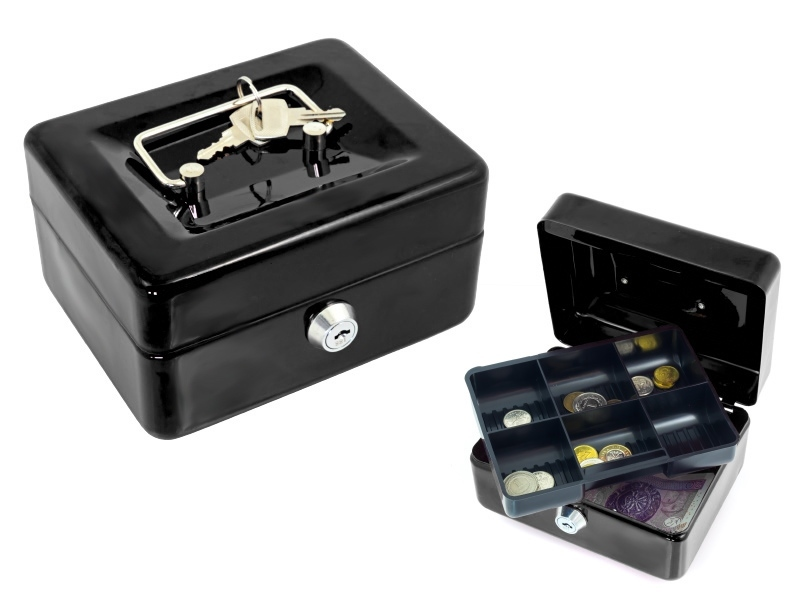 Item FT16 CONTAINER FOR MONEY SAFE METAL container