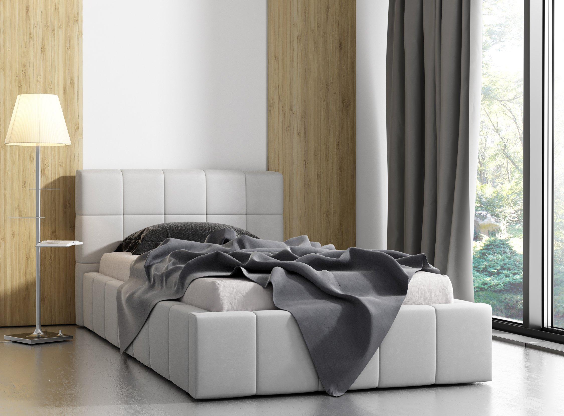 łóżko Tapicerowane Młodzieżowe Jennifer 100x200