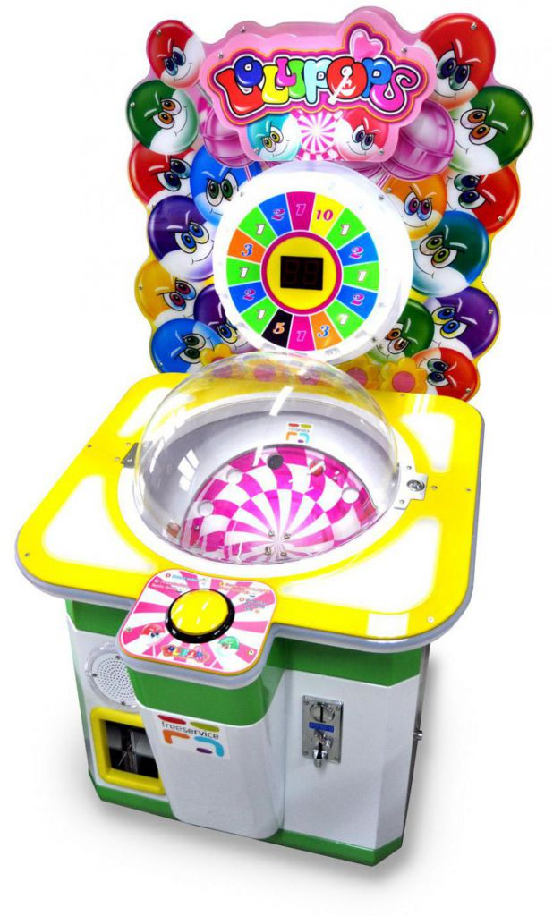 Item CANDY machine, the candy seller, the GAME, the NOVELTY