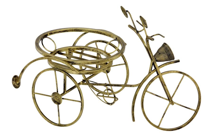 Kovový stojan na 1 kvety na bicykli 134