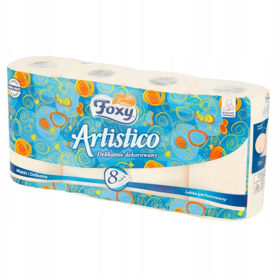 Foxy Artistico brzoskwiniowy papier toaletowy