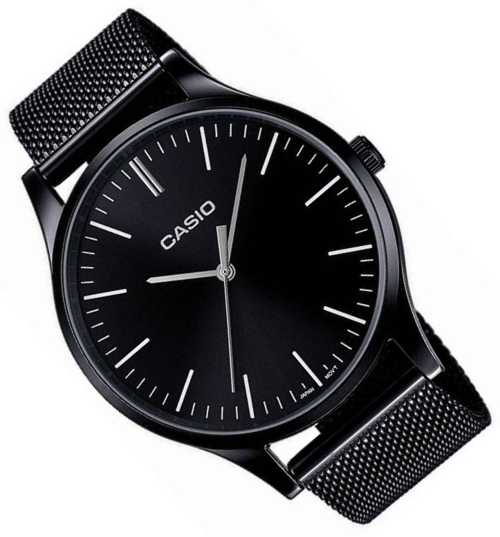 Čierne hodinky E140B + RYTCA