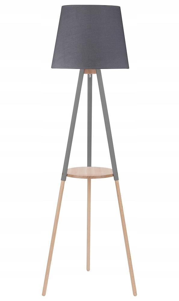 Moderné podlahy lampa s tabuľke sivá WAIO