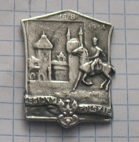 Odznak légie Polskie 16 / B 1914