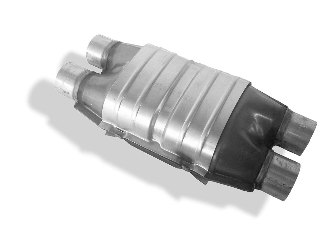 катализатор универсальный 2x2 e2 55mm bmw vw opel