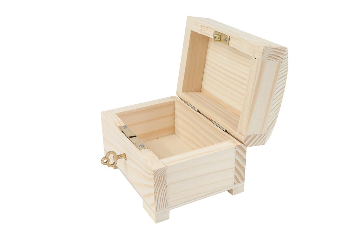Casket Kuferek Box Key Uzavretý kuchár