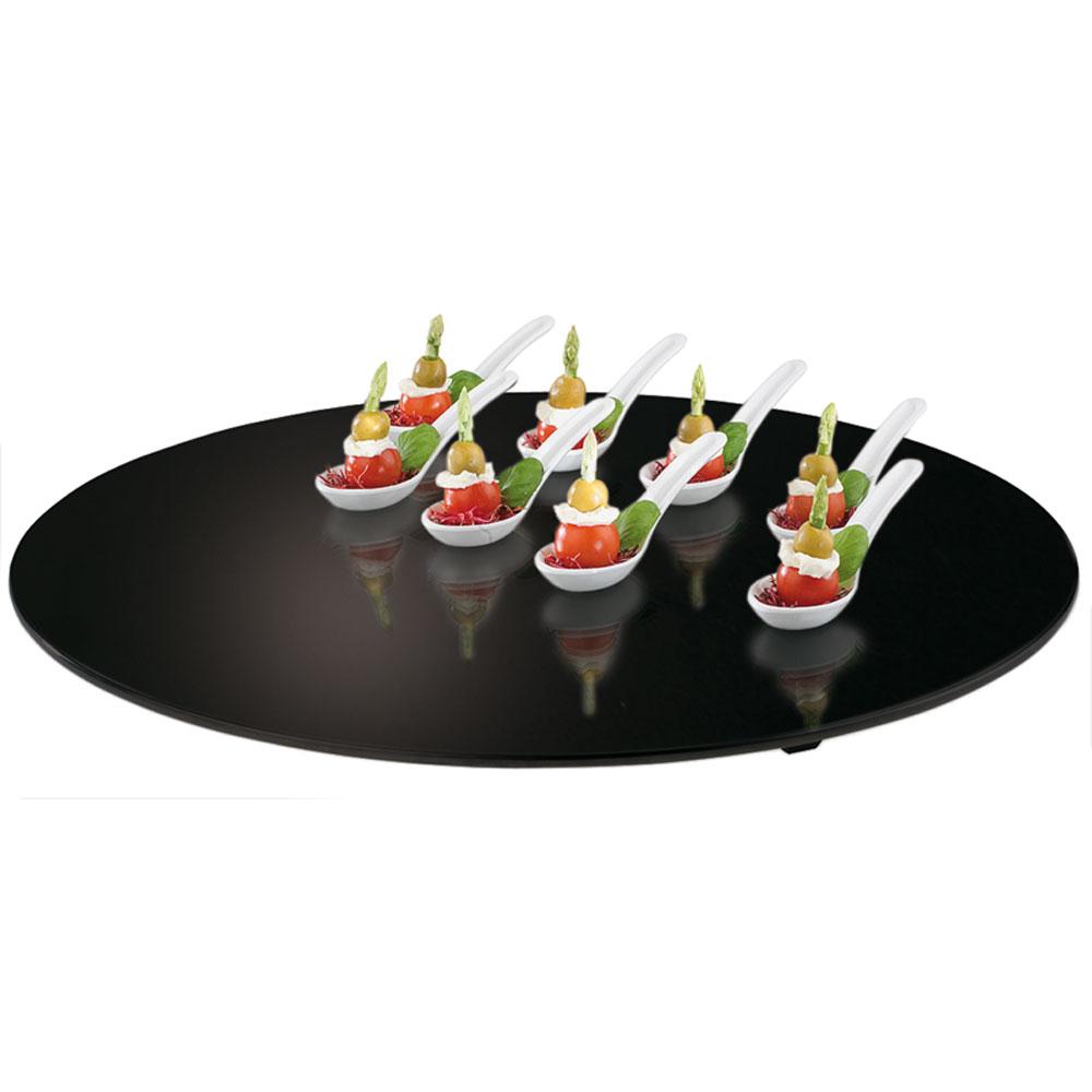 Sklenený zásobník Čierna 50cm Sushi Dessert Snap