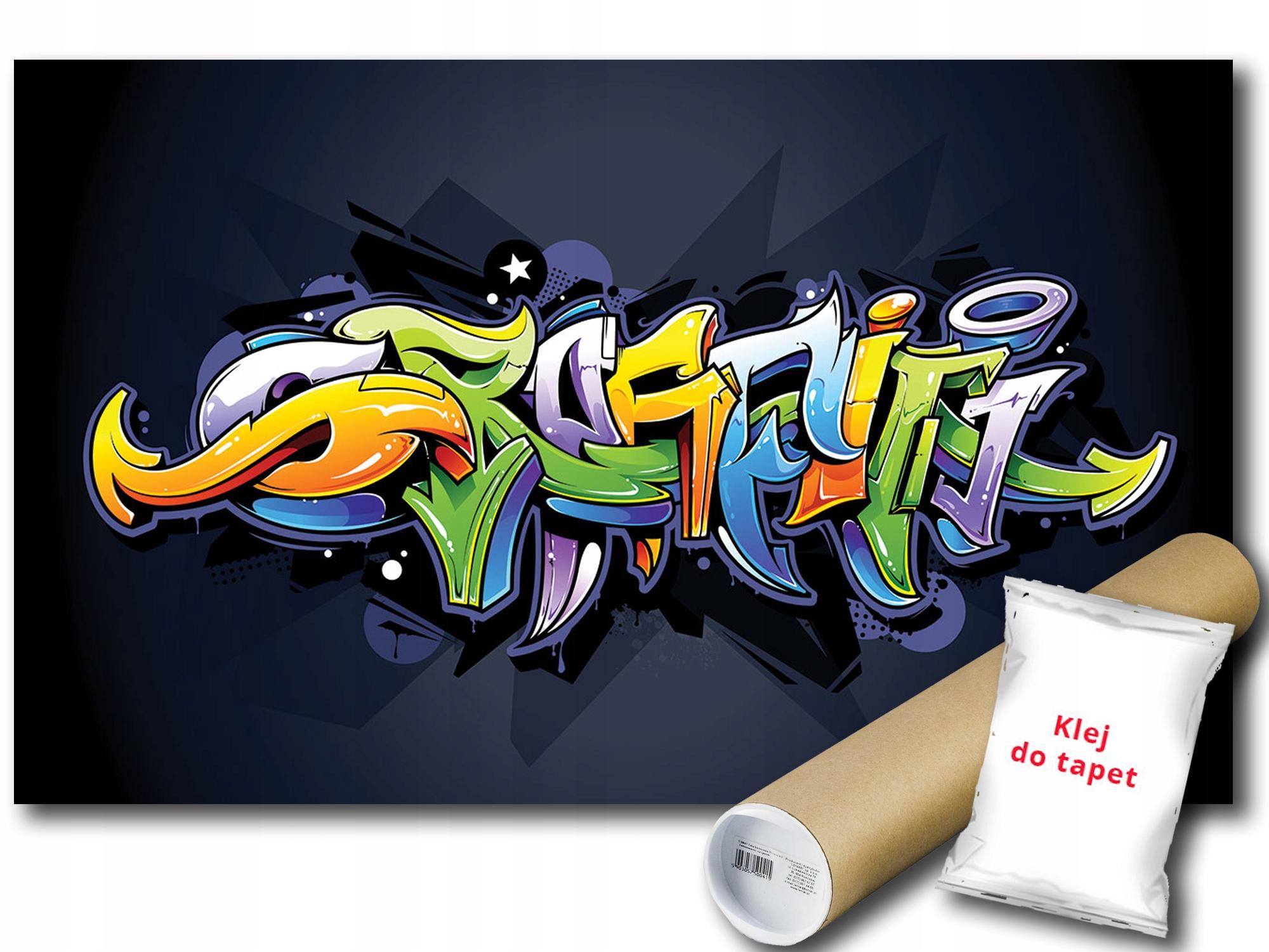 Nástenné maľby GRAFFITI 14A F2XL 312x219 F1509