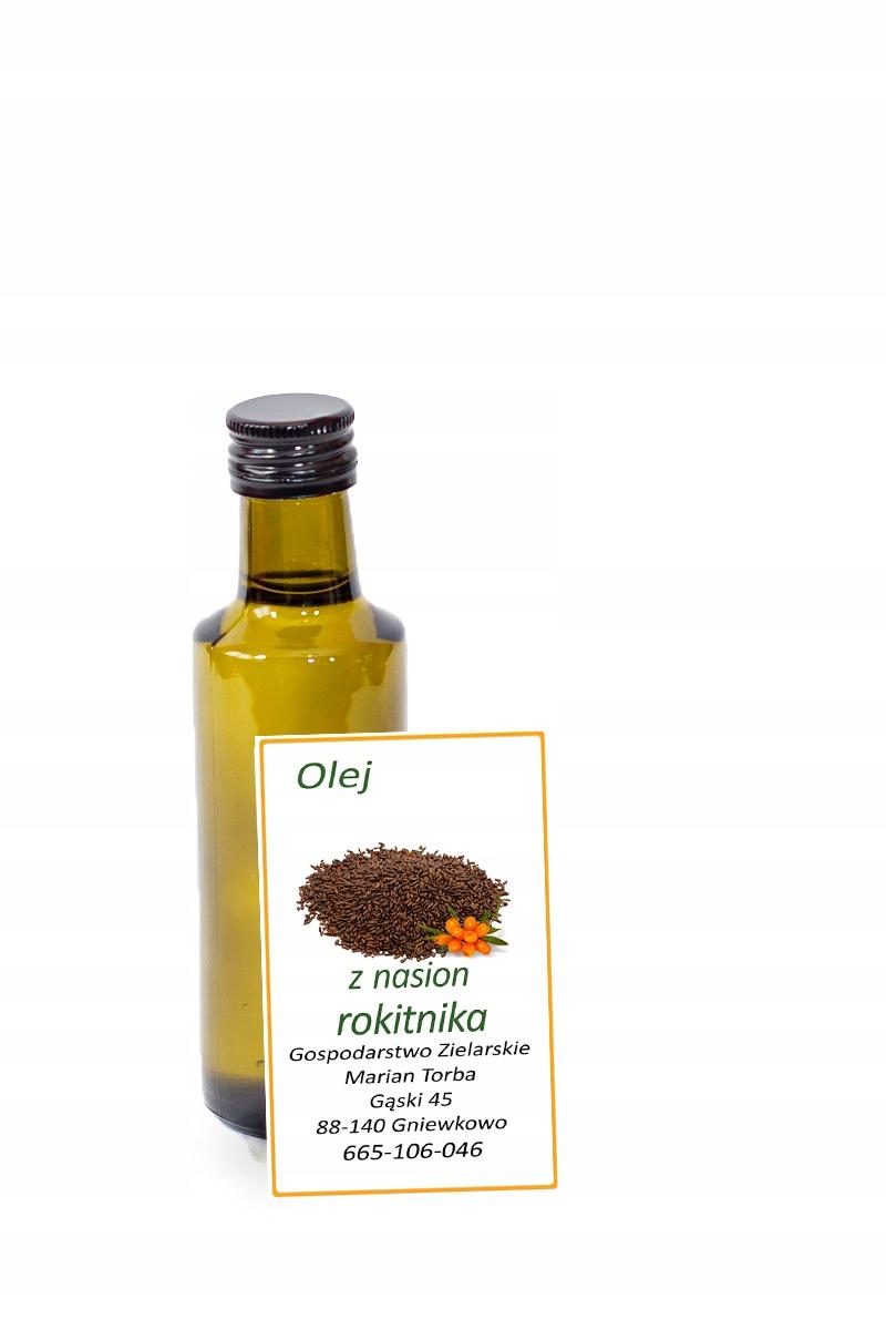 Olej z nasion rokitnika, rokitnikowy 20 ml