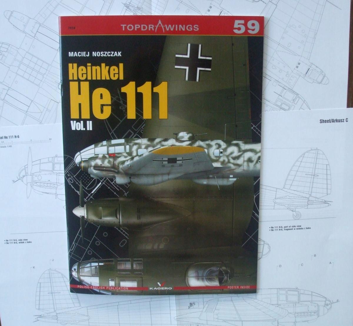 Heinkel He 111 Vol. 2 - Кагеро Topdrawings доставка товаров из Польши и Allegro на русском